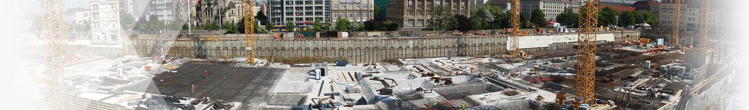 Baustelle - Jung & Partner Software & Consulting AG, Berlin | Qualitätsmangement von Baustoffen, Software für Baustoffprüfung