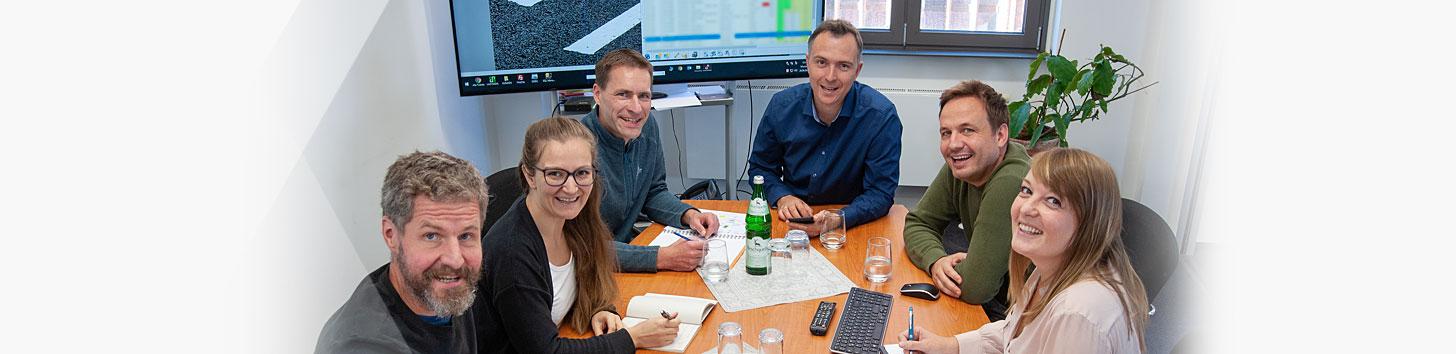 Das Team von Jung & Partner Software & Consulting AG, Berlin | Qualitätsmangement von Baustoffen, Software für Baustoffprüfung