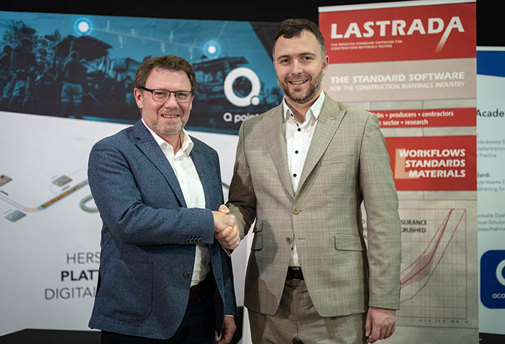 Pressemitteilung LASTRADA und QPoint