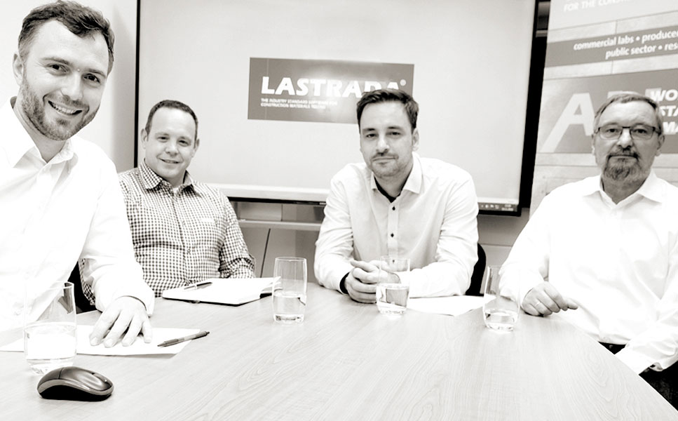 LASTRADA Softwarelösungen für die Baustoffprüfung